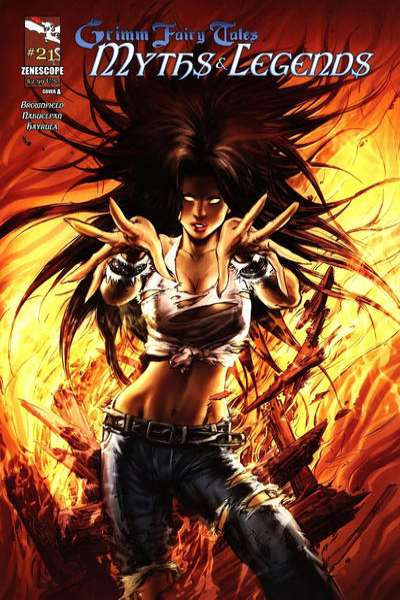 Grimm Fairy Tales: Myths & Legends #21 comic books for sale
