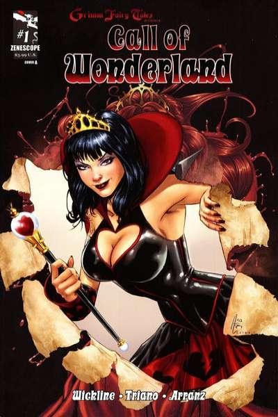 Grimm Fairy Tales presents Call of Wonderland comic books