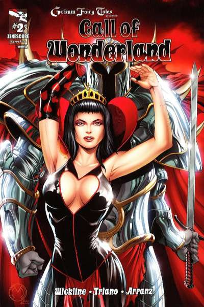 Grimm Fairy Tales presents Call of Wonderland #2 comic books - cover scans photos Grimm Fairy Tales presents Call of Wonderland #2 comic books - covers, picture gallery