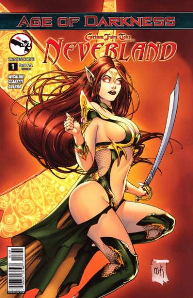Grimm Fairy Tales presents Neverland: Age of Darkness # comic book complete sets Grimm Fairy Tales presents Neverland: Age of Darkness # comic books