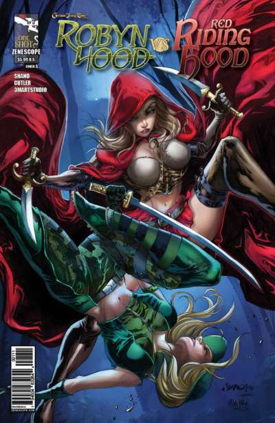 Grimm Fairy Tales presents Robyn Hood vs. Red Riding Hood Comic Books. Grimm Fairy Tales presents Robyn Hood vs. Red Riding Hood Comics.