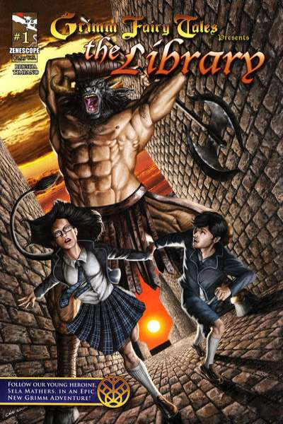 Grimm Fairy Tales presents The Library Comic Books. Grimm Fairy Tales presents The Library Comics.