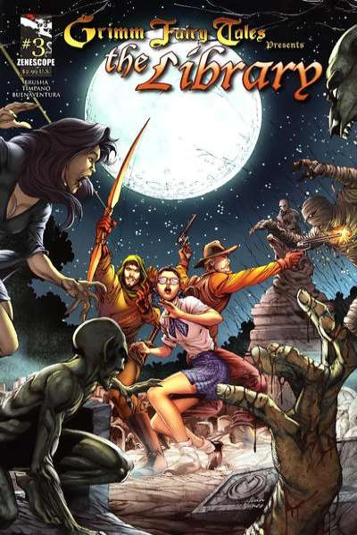 Grimm Fairy Tales presents The Library #3 Comic Books - Covers, Scans, Photos  in Grimm Fairy Tales presents The Library Comic Books - Covers, Scans, Gallery