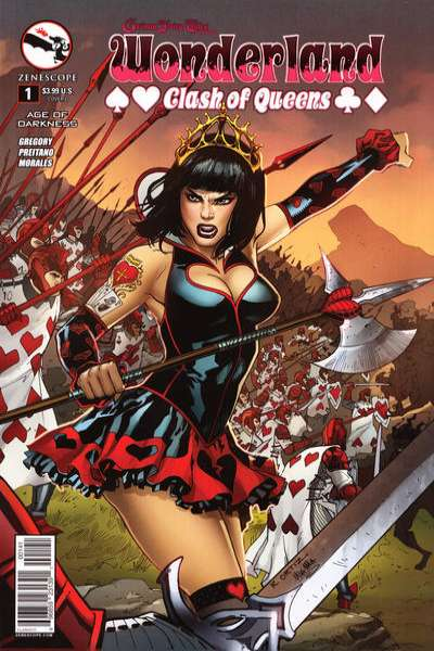 Grimm Fairy Tales presents Wonderland: Clash of Queens Comic Books. Grimm Fairy Tales presents Wonderland: Clash of Queens Comics.
