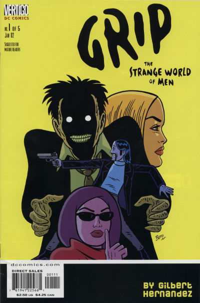 Grip: The Strange World of Men comic books
