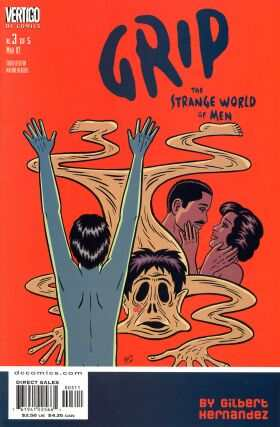 Grip: The Strange World of Men #3 comic books - cover scans photos Grip: The Strange World of Men #3 comic books - covers, picture gallery