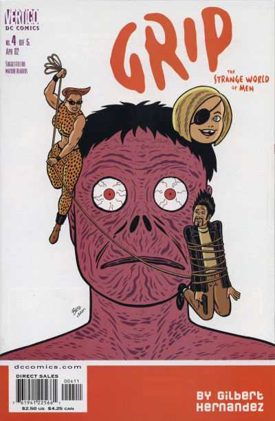 Grip: The Strange World of Men #4 comic books - cover scans photos Grip: The Strange World of Men #4 comic books - covers, picture gallery