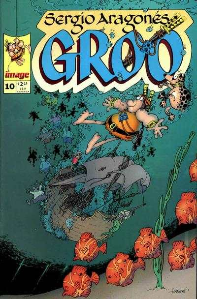 Groo #10 comic books for sale