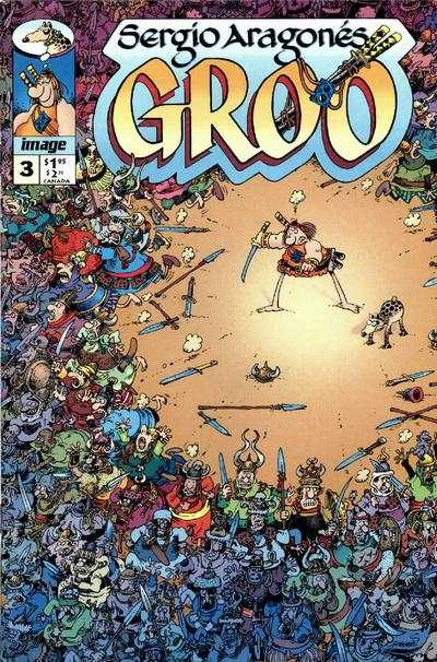 Groo #3 comic books - cover scans photos Groo #3 comic books - covers, picture gallery