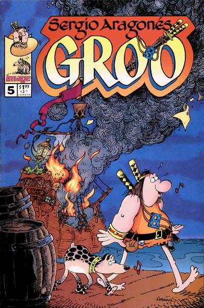 Groo #5 comic books for sale