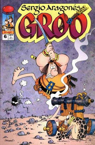 Groo #6 Comic Books - Covers, Scans, Photos  in Groo Comic Books - Covers, Scans, Gallery