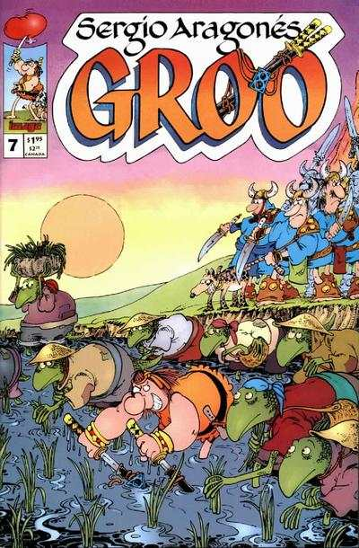 Groo #7 comic books for sale