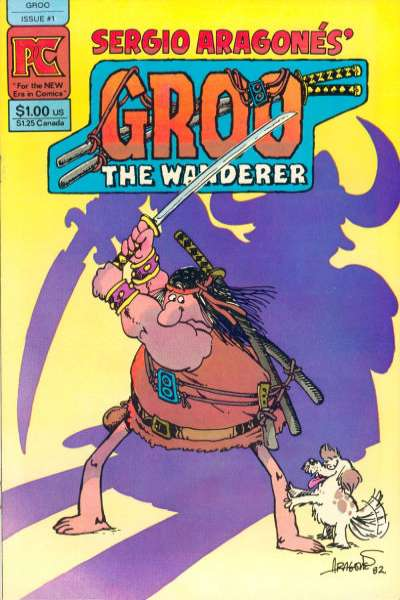 Groo the Wanderer comic books
