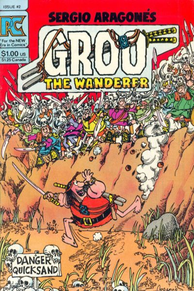 Groo the Wanderer #2 comic books - cover scans photos Groo the Wanderer #2 comic books - covers, picture gallery