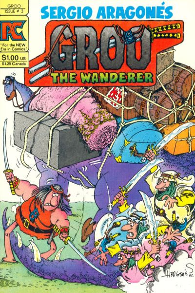Groo the Wanderer #3 comic books - cover scans photos Groo the Wanderer #3 comic books - covers, picture gallery