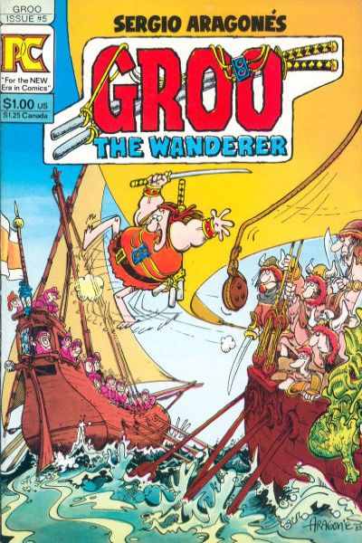 Groo the Wanderer #5 cheap bargain discounted comic books Groo the Wanderer #5 comic books