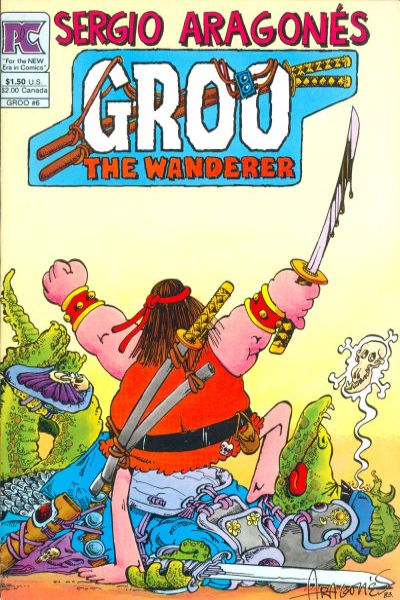 Groo the Wanderer #6 comic books - cover scans photos Groo the Wanderer #6 comic books - covers, picture gallery