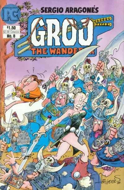 Groo the Wanderer #8 cheap bargain discounted comic books Groo the Wanderer #8 comic books
