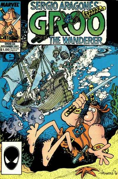 Groo the Wanderer #33 Comic Books - Covers, Scans, Photos  in Groo the Wanderer Comic Books - Covers, Scans, Gallery