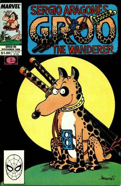 Groo the Wanderer #45 Comic Books - Covers, Scans, Photos  in Groo the Wanderer Comic Books - Covers, Scans, Gallery