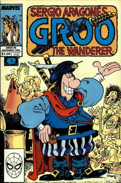 Groo the Wanderer #46 Comic Books - Covers, Scans, Photos  in Groo the Wanderer Comic Books - Covers, Scans, Gallery
