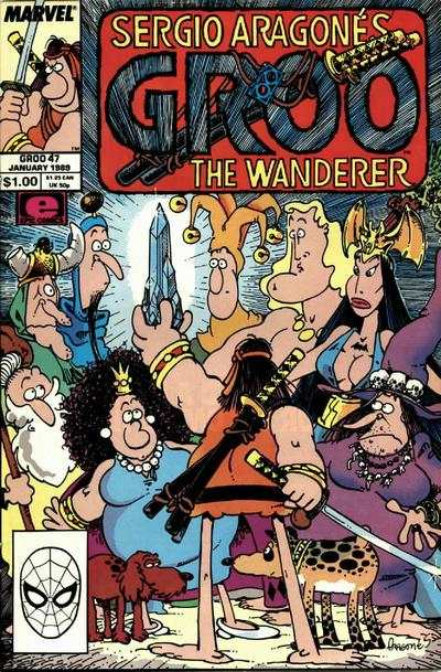 Groo the Wanderer #47 comic books - cover scans photos Groo the Wanderer #47 comic books - covers, picture gallery