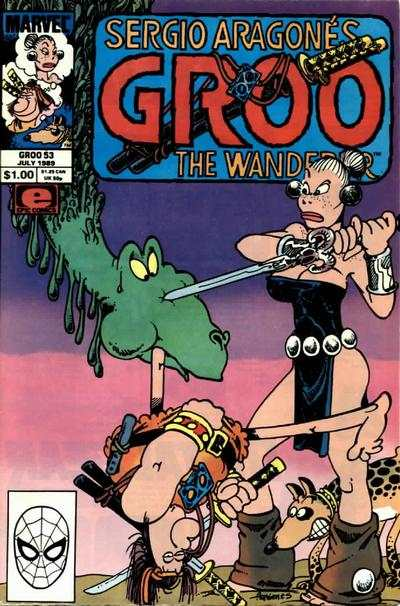 Groo the Wanderer #53 comic books - cover scans photos Groo the Wanderer #53 comic books - covers, picture gallery