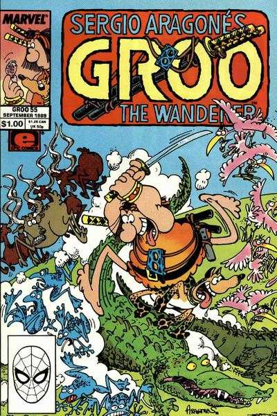 Groo the Wanderer #55 comic books - cover scans photos Groo the Wanderer #55 comic books - covers, picture gallery