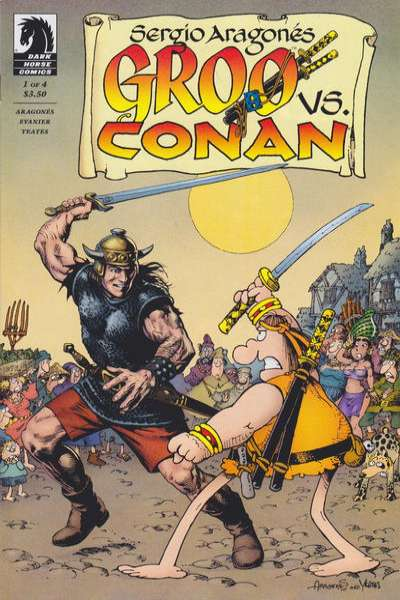 Groo vs. Conan Comic Books. Groo vs. Conan Comics.