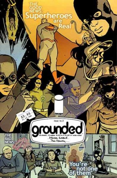 Grounded #2 comic books for sale