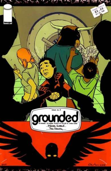 Grounded #3 comic books for sale