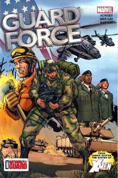 Guard Force Comic Books. Guard Force Comics.
