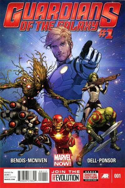 Guardians of the Galaxy comic books