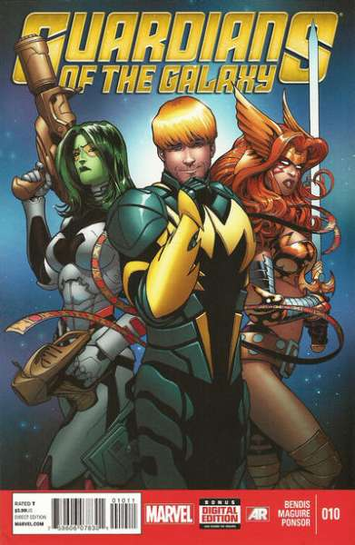 Guardians of the Galaxy #10 Comic Books - Covers, Scans, Photos  in Guardians of the Galaxy Comic Books - Covers, Scans, Gallery