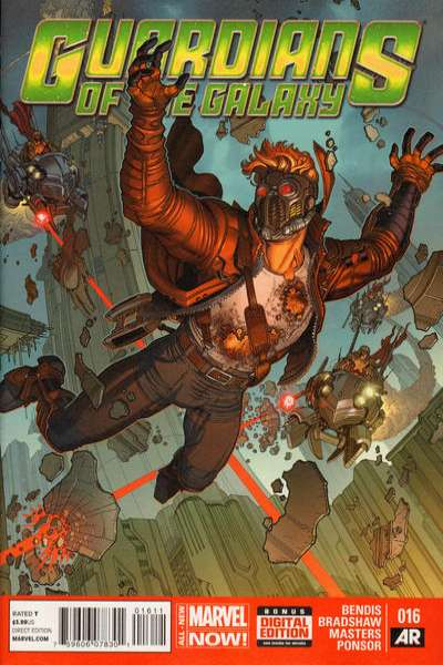 Guardians of the Galaxy #16 comic books - cover scans photos Guardians of the Galaxy #16 comic books - covers, picture gallery