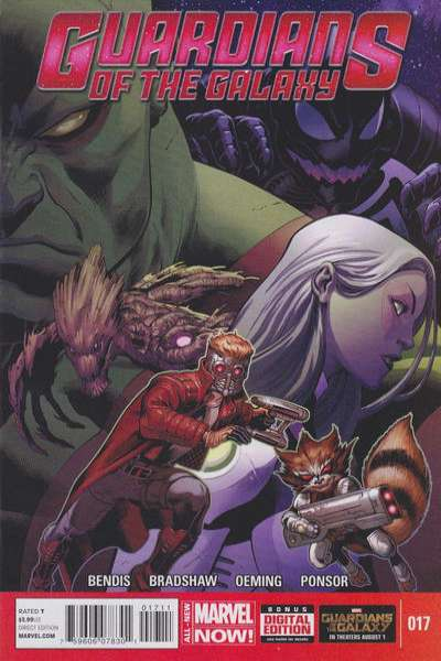 Guardians of the Galaxy #17 comic books - cover scans photos Guardians of the Galaxy #17 comic books - covers, picture gallery