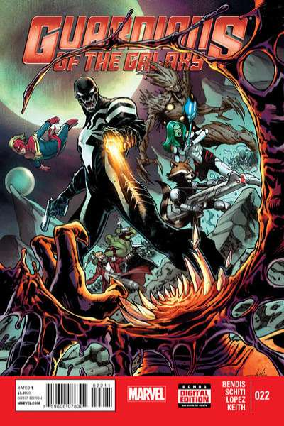 Guardians of the Galaxy #22 Comic Books - Covers, Scans, Photos  in Guardians of the Galaxy Comic Books - Covers, Scans, Gallery