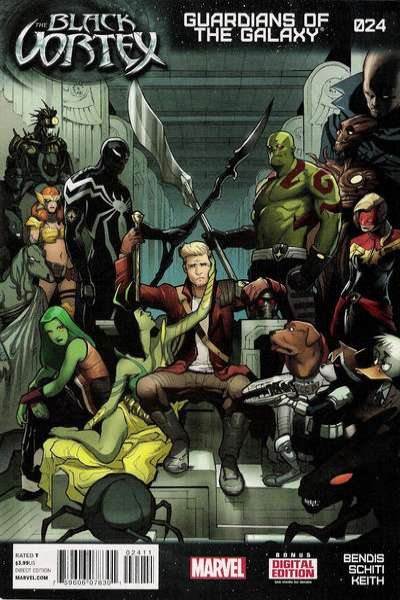 Guardians of the Galaxy #24 comic books for sale