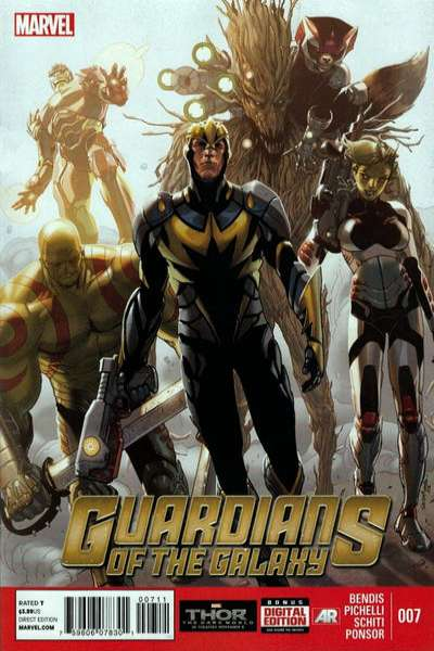 Guardians of the Galaxy #7 comic books - cover scans photos Guardians of the Galaxy #7 comic books - covers, picture gallery