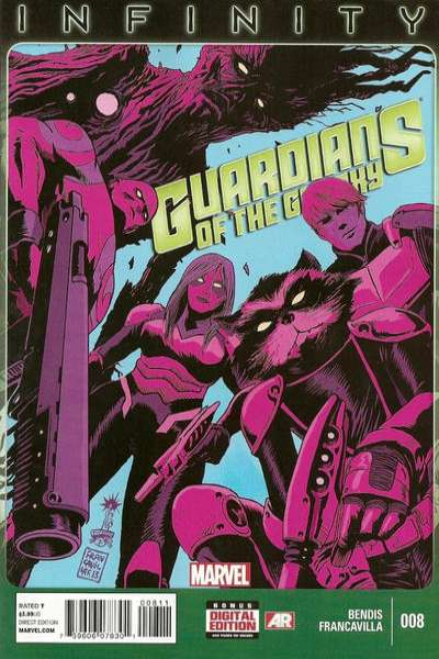 Guardians of the Galaxy #8 comic books - cover scans photos Guardians of the Galaxy #8 comic books - covers, picture gallery