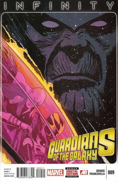 Guardians of the Galaxy #9 Comic Books - Covers, Scans, Photos  in Guardians of the Galaxy Comic Books - Covers, Scans, Gallery