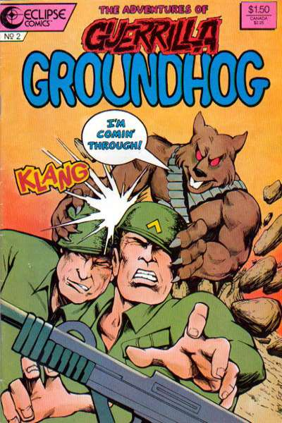 Guerilla Groundhog #2 comic books for sale