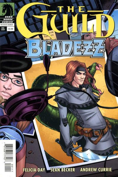 Guild: Bladezz #1 comic books - cover scans photos Guild: Bladezz #1 comic books - covers, picture gallery