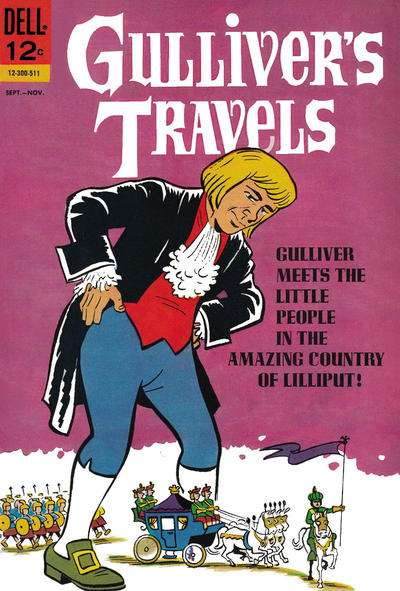 Gulliver's Travels Comic Books. Gulliver's Travels Comics.
