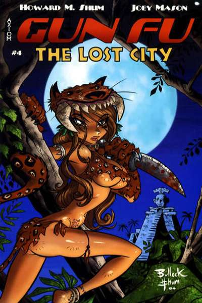 Gun Fu: The Lost City #4 comic books for sale