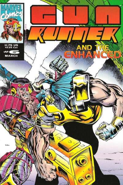 Gun Runner #6 comic books - cover scans photos Gun Runner #6 comic books - covers, picture gallery