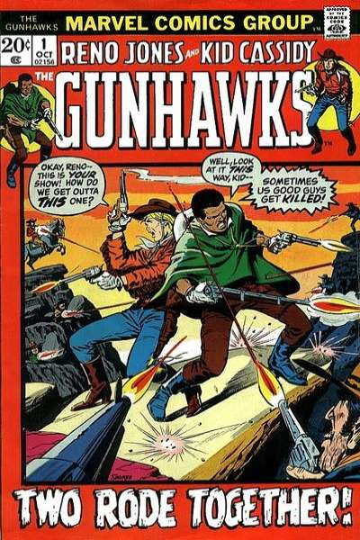 Gunhawks comic books