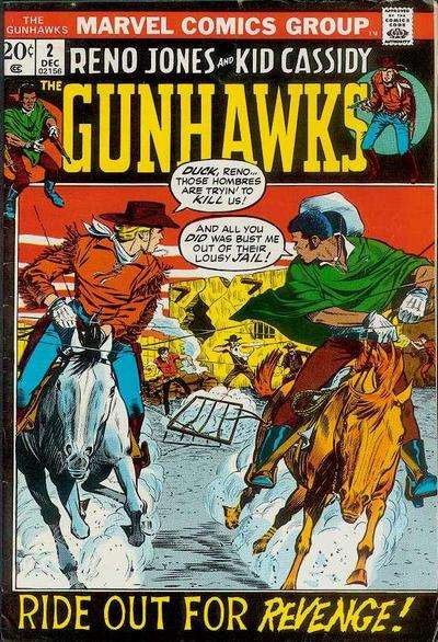 Gunhawks #2 comic books for sale