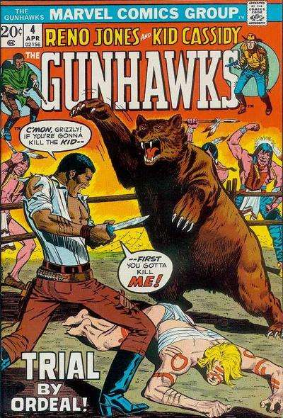 Gunhawks #4 Comic Books - Covers, Scans, Photos  in Gunhawks Comic Books - Covers, Scans, Gallery