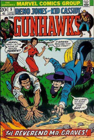 Gunhawks #5 comic books for sale